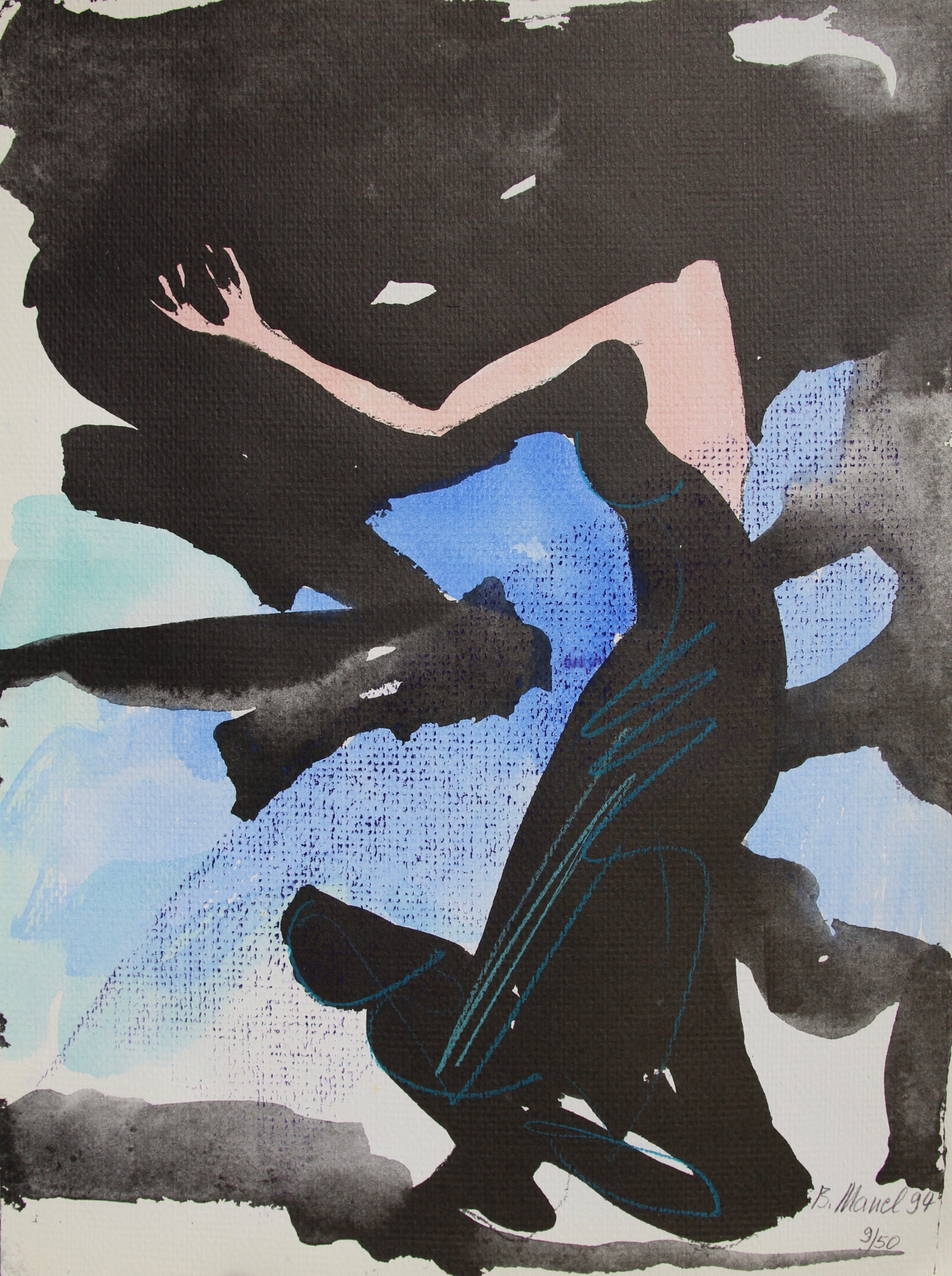 Jahr: 1994 Größe: 27 x 37 cm Auflage: 9/50 sig. Preis je Blatt: 120€ Preisje Mappe: 1000€