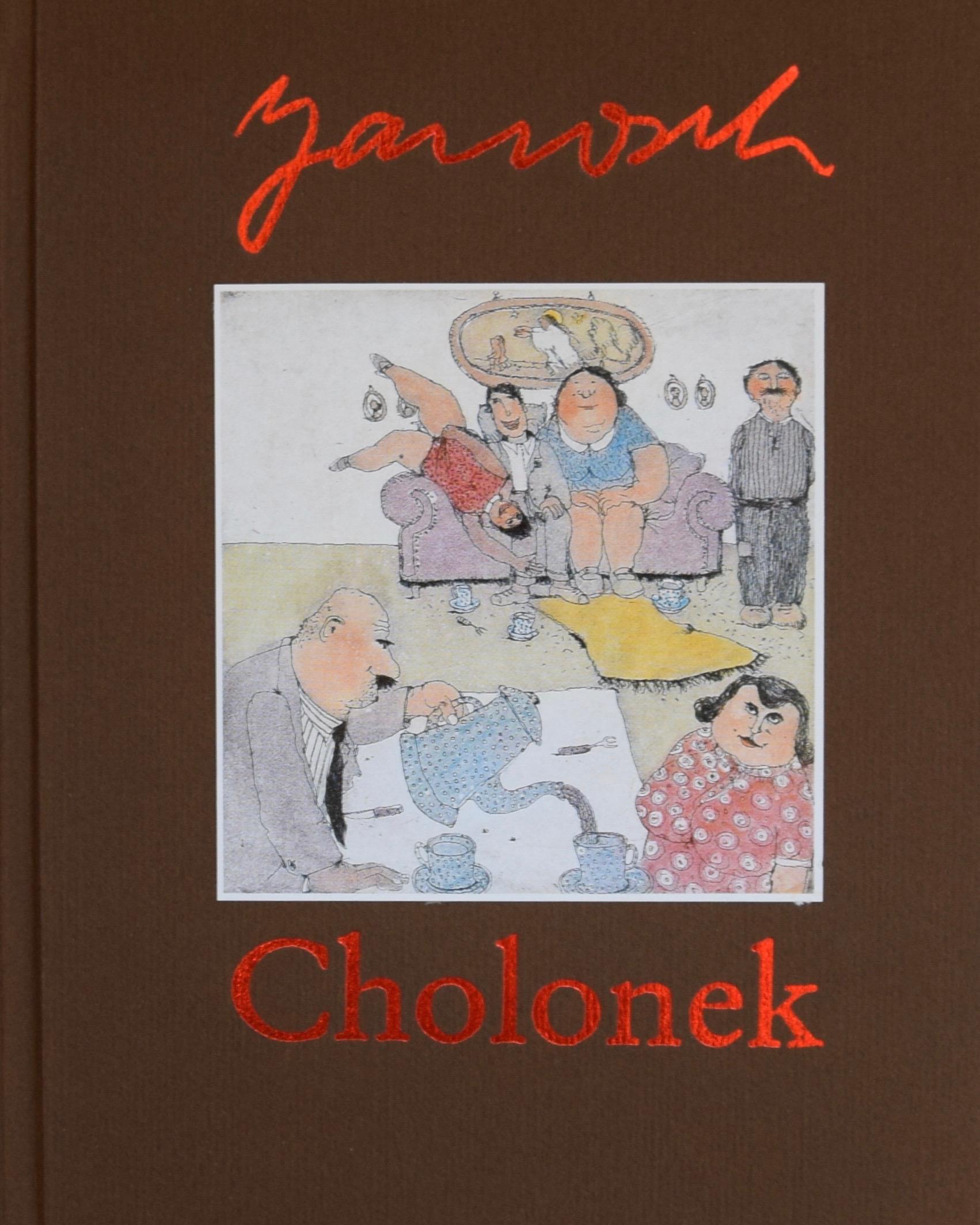 """Dies ist das zugehörige Buch """"Cholonek"""" zu der Mappe."""